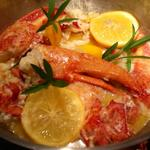 Butter poached lobster with French tarragon and Meyer lemons